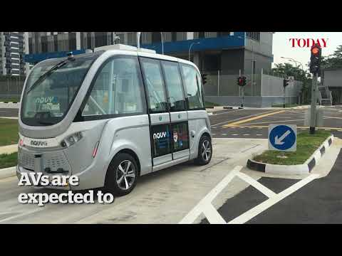 Xxx Mp4 Driverless Buses To Ply Punggol Tengah Jurong Innovation District From 2022 3gp Sex