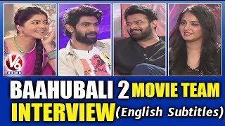 Baahubali 2 Movie Team Exclusive Interview With Savitri | Prabhas | Anushka | Rana | V6 News