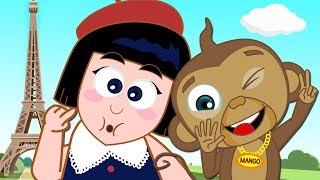 The Adventures of Annie and Ben: Towering Mango | Funny Cartoons for Children by HooplaKidz Toons