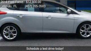 2014 Ford Focus Titanium 4dr Hatchback for sale in Orlando,