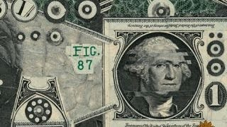 Art that's made of money