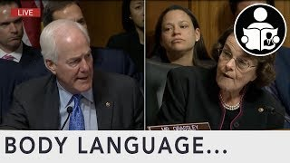 Body Language: Dianne Feinstein Reports Of Leaking