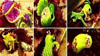 ALL PLANTS TORTURE! PvZ Garden Warfare PVZ mod 2018 | Plants vs Zombies