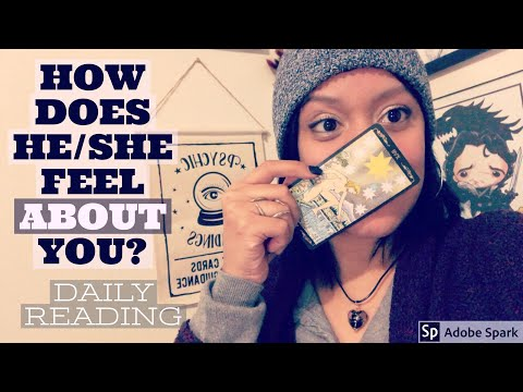 Xxx Mp4 How Does He She Feel About You ✨ Daily Love Tarot 💖 Monday February 19th 2018 3gp Sex