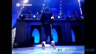 Michael jackson Moonwalk and Robot Dance