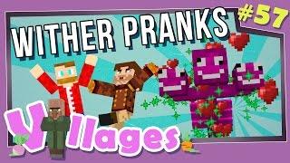 Minecraft: Villages - #57 - Wither Pranks! (Modded Minecraft)