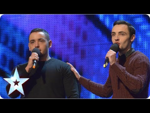 Richard and Adam singing The Impossible Dream Week 2 Auditions Britain s Got Talent 2013