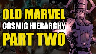 Marvel Power Hierarchy - Part 2 - Cosmic Abstracts