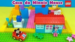 Minnie Mouse Lego House  Casa de Lego da  #MinnieMouse #MickeyMouse
