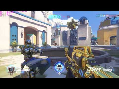 Shinta competitive mode powerfull soldier 76 gold gun, 70% kill parcitipation, play of the game