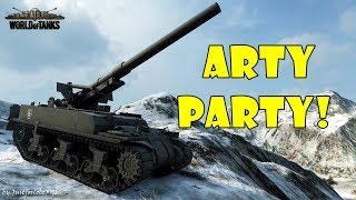 World of Tanks - Funny Moments | ARTY PARTY! #39