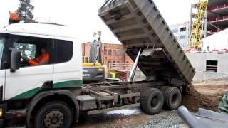 Scania 124 Grusbil - Dump Truck.