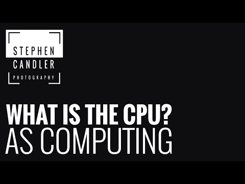 AS Computing - What is the CPU?
