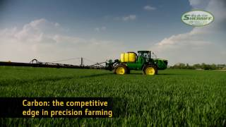 John Deere R4050i Sprayer with Carbon Fibre Booms