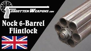 Nock 6 Barrel Flintlock