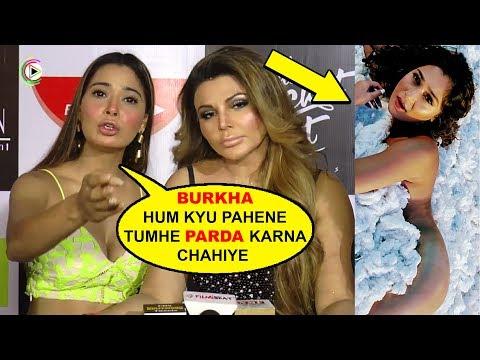 Xxx Mp4 Sara Khan On MUSLIM BURKHA At The Launch Of Song 'Black Heart' 2018 3gp Sex