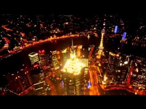 Shanghai Tower (650 meters) - Extraordinary pictures of Shanghai - On the roof