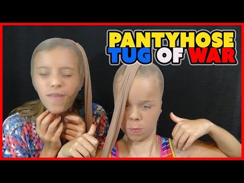 ⊛ PANTYHOSE TUG OF WAR CHALLENGE EP 14 ⊛ SMELLYBELLYTV