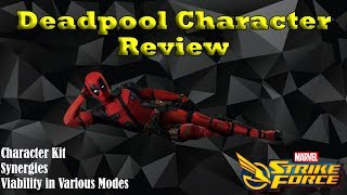 Deadpool Character Review - Viability in PvP and PvE - Marvel Strike Force