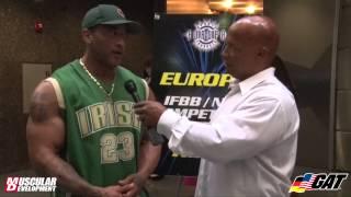A.D Cherry Pre-show Interview | IFBB Dallas Europa 2015