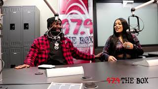Stefflon Don Chops It Up With The Radio Boss Kiotti