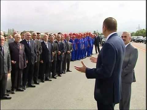 İlham Əliyevin Naxçıvan Sədərək yolunun açılışında nitqi. 05.10.2010