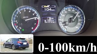【0-100km/h 加速】 SUBARU LEVORG 1.6GT-S 6速CVT DBA-VM4