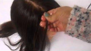 الطريقة الصحيحة لفرد الشعر بالنشا وجعله مثل الحرير ومن إول مرة