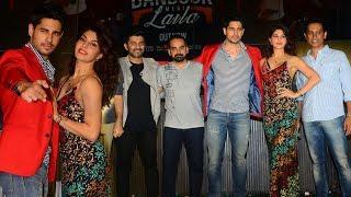 Bandook Meri Laila Song Launch Full Video - A Gentleman | Sidharth Malhotra, Jacqueline Fernandez