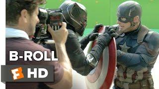 Captain America: Civil War B-ROLL 2 (2016) - Chris Evans, Scarlett Johansson Movie HD