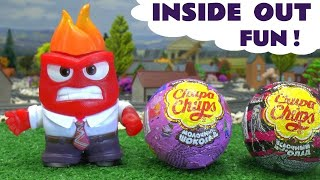 Inside Out Characters Open Surprise Eggs Disney Frozen MLP Peppa Pig Monster High Thomas and Friends