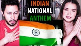 INDIAN NATIONAL ANTHEM   Jana Gana Mana   A. R. Rahman   Indian Armed Forces   Reaction!