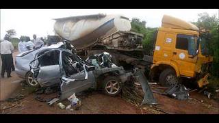Family Couple, Three Others Killed in Ghastly Road Accident