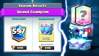 GRAND CHAMPION DRAFT CHEST OPENING | Clash Royale