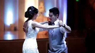 """Cute Couple Does First Dance To Ed Sheeran's """"Thinking Out Loud"""" and it's BEAUTIFUL!"""