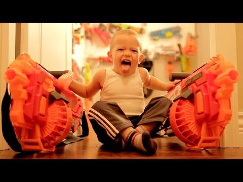 Nerf WAR Gun BABY 3