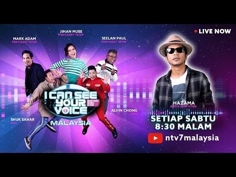 FULL I Can See Your Voice Malaysia Minggu 7 bersama Hazama ICSYVMY