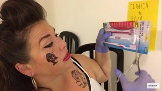 Ghetto Dentist Role Play - Funny ASMR  (You Will be Relaxed Doh)