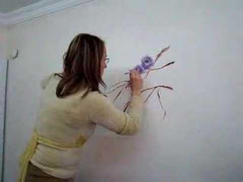 el boyama duvar boyama one stroke tek darbe fırça teknikleri