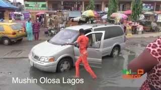 Lagos Flooding: The Deplorable State Of Mushin Olosa, Ikeja Roads