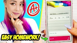 21 School Hacks For Studying You Should Know! *IMPROVE YOUR GRADES EASILY*