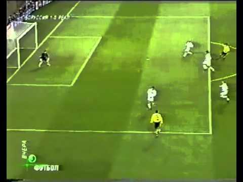 روبرتو كارلوس ضد أطول لاعب روعه