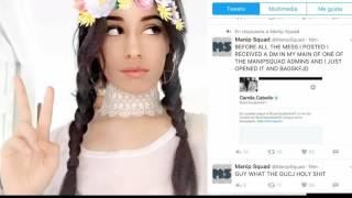 😱¡Camila cabello bloquea una cuenta de twitter por Camren!