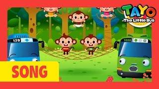 [TAYO Nursery Rhymes] #24 Five Little Monkeys