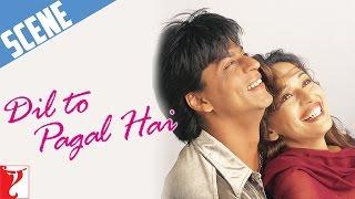 Scene: Dil To Pagal Hai | Mohabbat Kya Hai? | Shah Rukh Khan | Madhuri Dixit