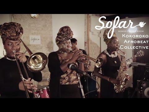 Kokoroko Afrobeat Collective Colonial Mentality Sofar London