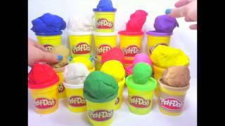 Play doh surprise toys & kinder surprise toys eggs