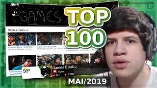 MAIORES Canais Do YouTube Brasil (MAI 2019) Games EduUu