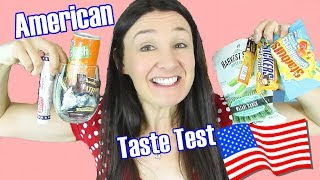 American Candy Taste Test Starburst and more - Cheeky Tam