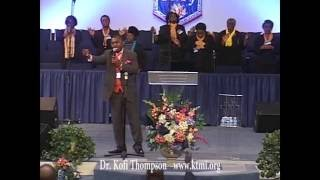 Dr  Kofi Thompson sings LET YOUR FIRE FALL at NATIONAL CHURCH OF GOD